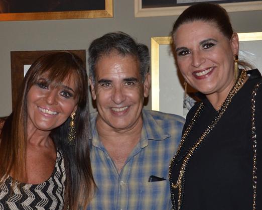 Rita Maluf, Luis Villarino e Paula Barroso