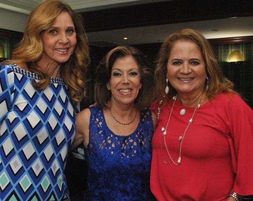 Sylvia de Castro entre Kátia Spolavori e Renata Fraga net