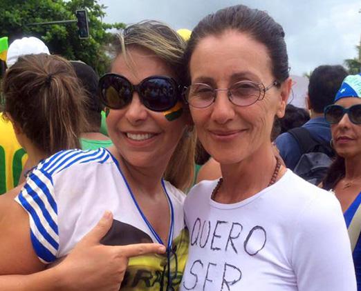 Veronica Berman e Cassia Kis