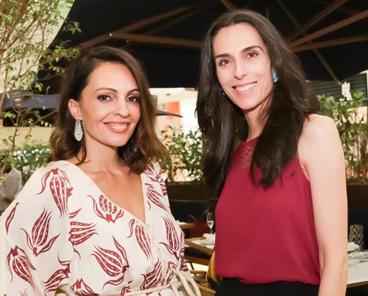 Alanka Nasser e Cinthia Muller