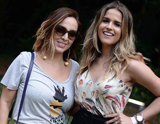 Ana Amelia Racy e Laila Coelho