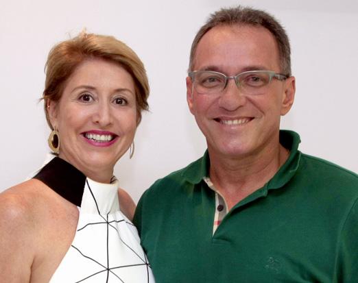 Ana Beatriz Gusmão e Paulo Cesar Gusmão