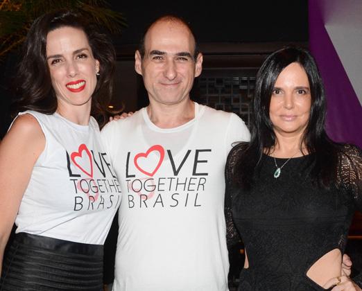 Ana Isabel Carvalho Pinto, Amir Slama e Jackie Shor