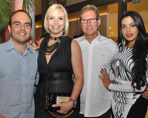 Antonio Paulo Pitanguy, Nina Kauffmann, Oswaldo de Oliveira e Jeniffer Setti