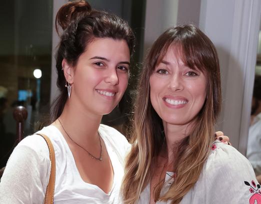 Carolina Koeler e Fabiola Cabral