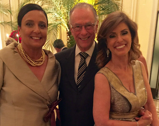 Christiane Pasquelet, Carlos Arthur Nuzman e Marcia Cintra