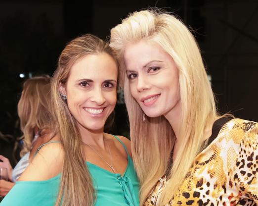 Claudia Dutra e Giovanna Priolli