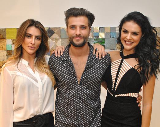 Cleo Pires, Bruno Gagliasso e Paloma Bernardi