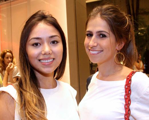 Dominique Yamanaka e Maria Julia Sanches