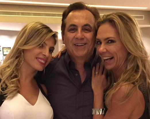 Eliane Tabbakh, Ricardo Rique e Márcia Veríssimo