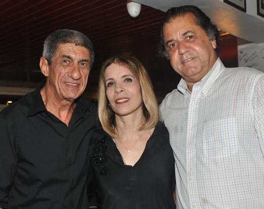 Fagner, Liège Monteiro e Omar Peres