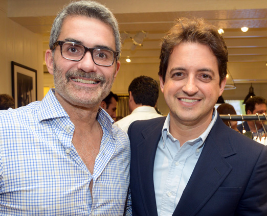 Felipe Diniz e Carlos Jereissati Filho