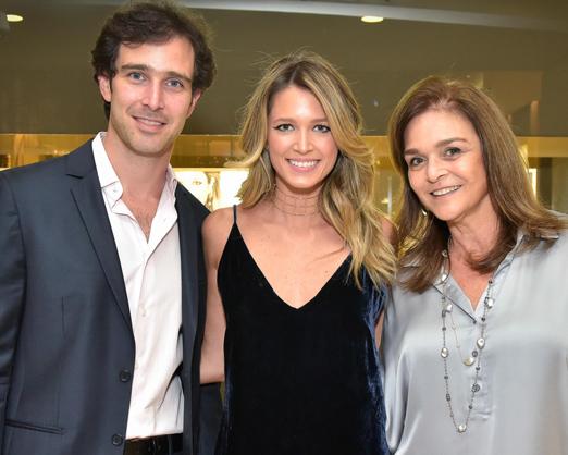 Fernando Dryzun, Heleninha Bordon e Sheila Dryzun