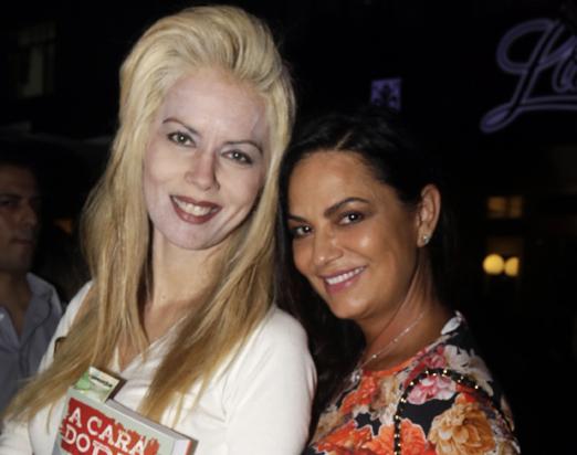 Giovanna Priolli e Luiza Brunet