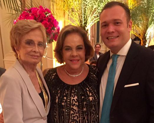 Glória Menezes, Regina Rique e João Chamarelli