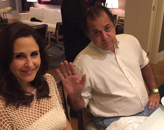 Guilhermina Guinle e Omar Peres, o Catito