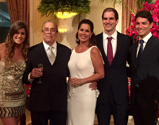 Isadora Heilborn, Carlos Francisco Magalhães, Henriqueta Heilborn, José Gustavo de Souza Costa Filho e Filippo Heilborn