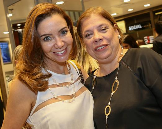 Jaqueline Milone e Rosangela Santiago