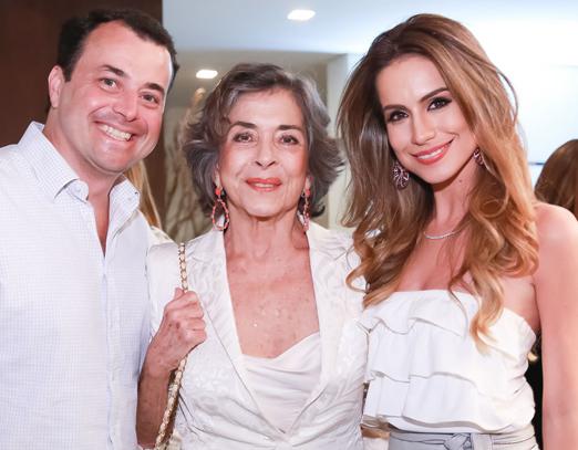 João Daniel, Betty Faria e Nathalia Schneider