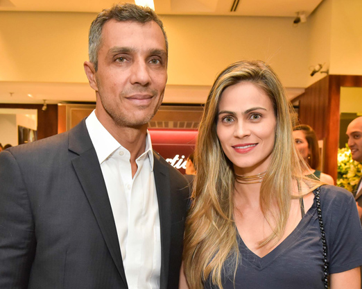 João Paulo Diniz e Ana Garcia Diniz