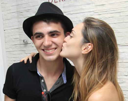 João Victor Fernandes e Isabelle Drummond