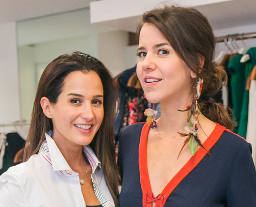Joana Nolasco e Luciana Novis