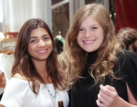 Julia Fonseca e Julia Werneck