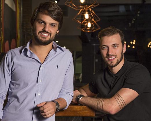Juliano Libman e Luiz Restiffe