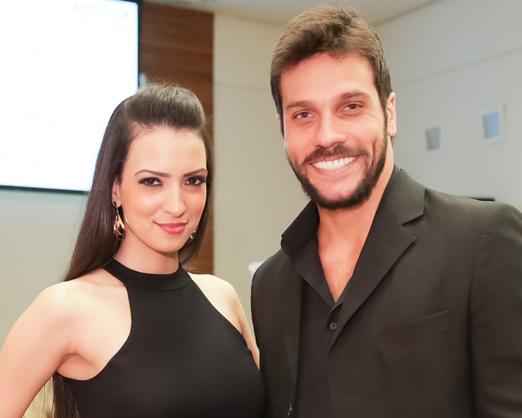 Larissa Amitti e Ronald Rezende