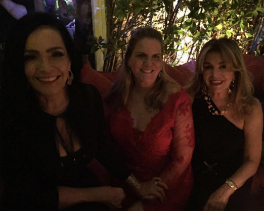 Liliana Rodriguez, Maninha Barbosa e Sonia Simonsen