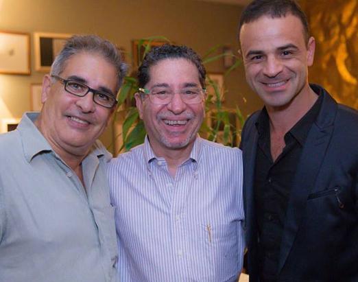 Luis Villarino, Samir Moyses e Paulinho Peres