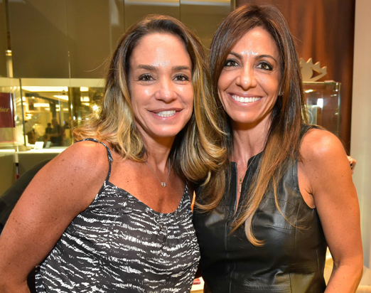 Malu Moura Andrade e Vanessa Acho