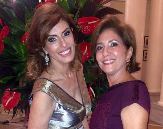 Marcia Cintra e Ana Paula Carneiro