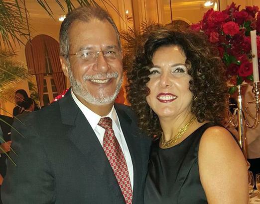 Marcos Ponce de Leon e Christine Pinto Ferreira