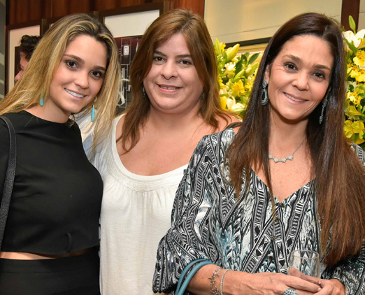 Maria Fernanda Barris, Roberta Maluf e Renata Junqueira Hayek
