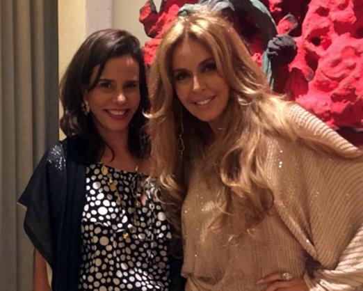 Narcisa Tamborindeguy e Nina Stevens