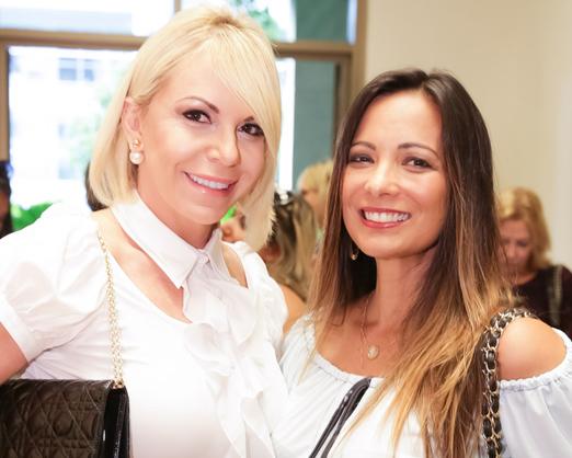 Nina Kauffmann e Marcia Romão