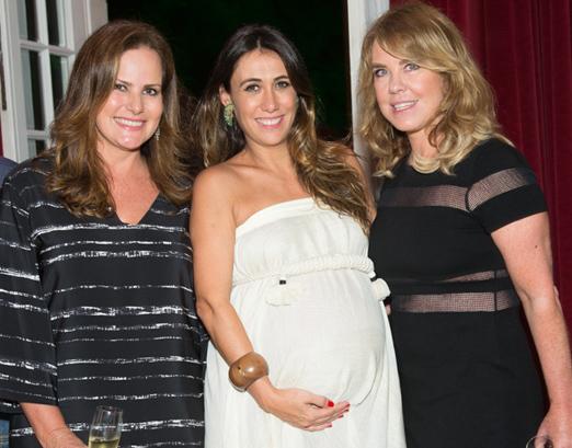 Renata Ceribelli, Isabela Bussade e Lilibeth Monteiro de Carvalho
