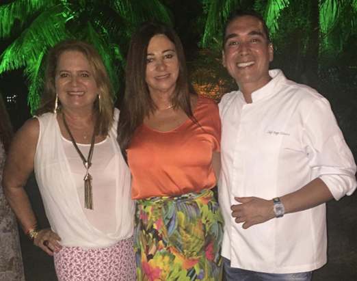 Renata Fraga, Hosana Pereira e Hugo Oliveira