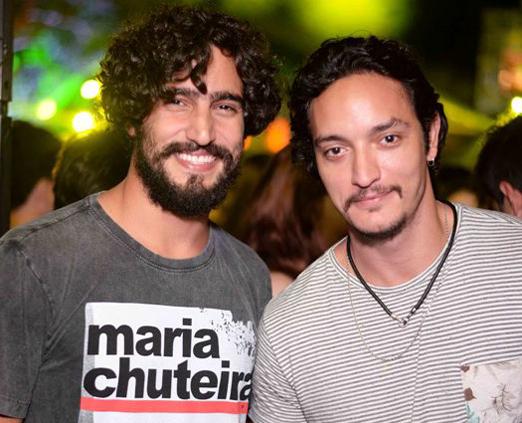 Renato Góes e Allan Souza Lima