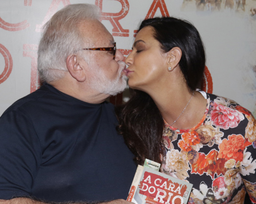 Ricardo Amaral e Luiza Brunet