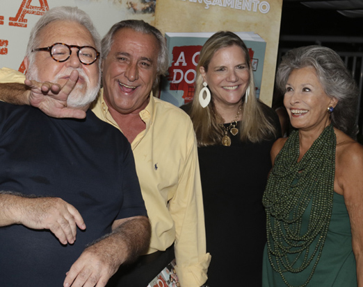 Ricardo e Gisella Amaral com Leleco e Maninha Barbosa