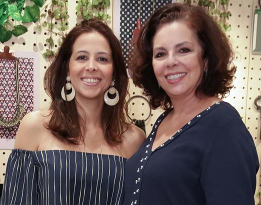 Roberta Fuser e Celia Osório