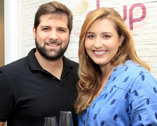 Rodrigo Galves e Paula Regazzi de Gusmão
