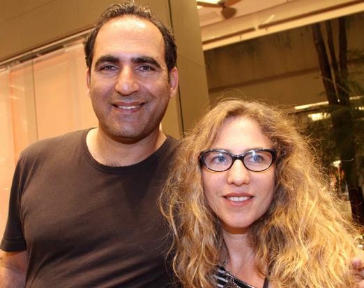 Yariv Aviv e Yael Steiner