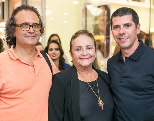 Zé Ronaldo Muller, Lucinha Araújo e João Ricardo Coelho