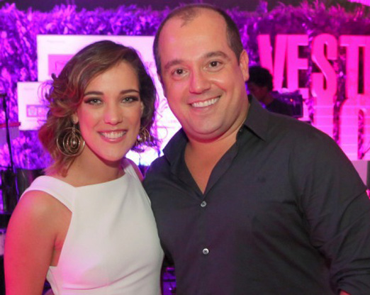 Adriana Birolli e Michel Diamant