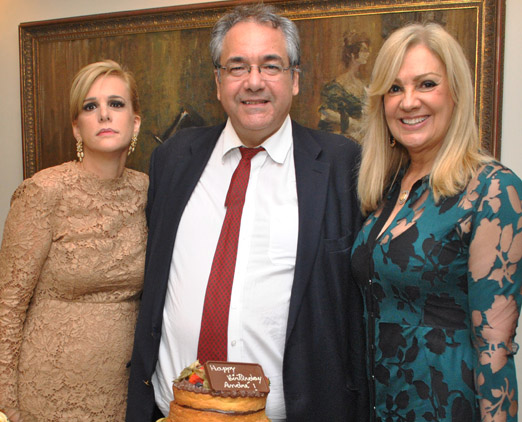 Ana Basílio, André Fontes e Alda Soares