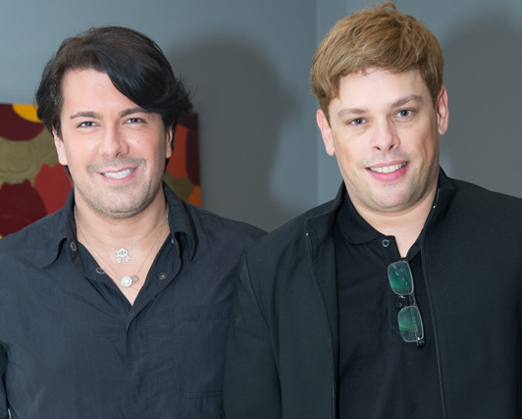 André Ramos e Bruno Chateaubriand
