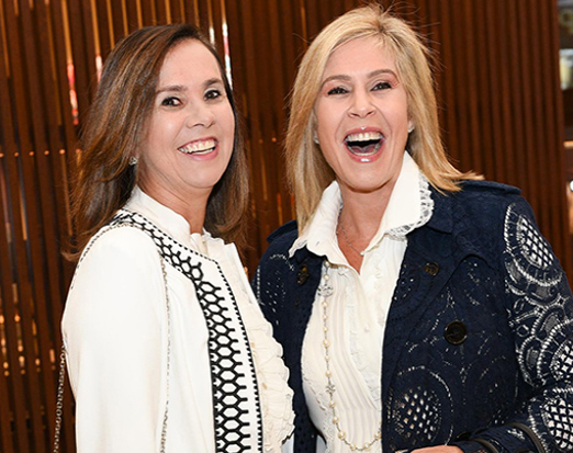 Angela Cardoso Alves e Gisela Rudge